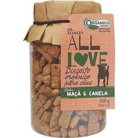 All Love - Biscoito Orgânico para Cães Maçã & Canela 200g
