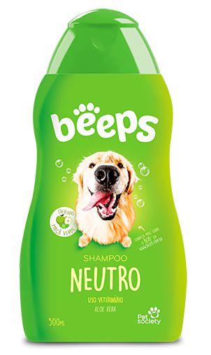 Shampoo Neutro Beeps - 500ml Pet Society
