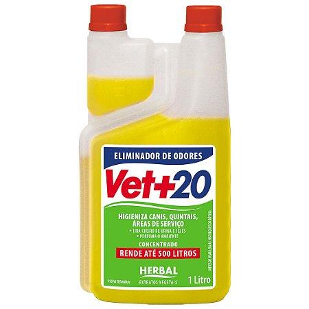 Eliminador de Odores Concentrado Herbal - 1L Vet+20