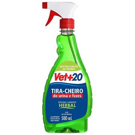 Spray Tira Cheiro Herbal - 500ml Vet+20