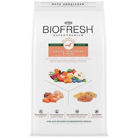 Ração Biofresh Adultos Sabor Mix de Carnes - 10,1Kg Cães Pequenos e Mini