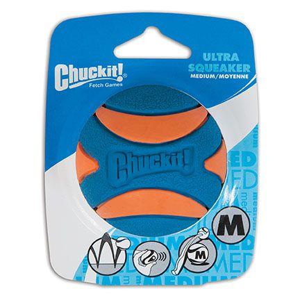 Bola Chuckit Ultra Squeaker Apito - 1Un M