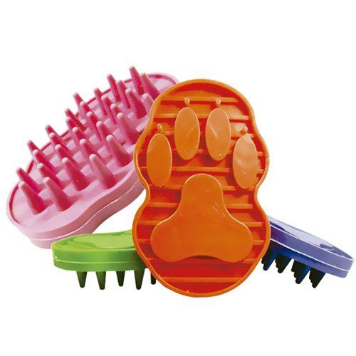 Escova de Borracha Massageadora -  Furacão Pet