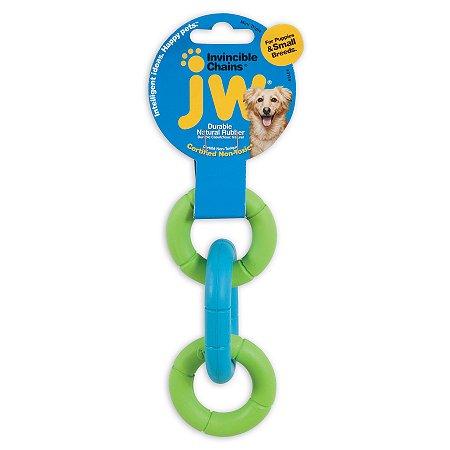 Brinquedo JW Correntes Invincible - Mini Verde