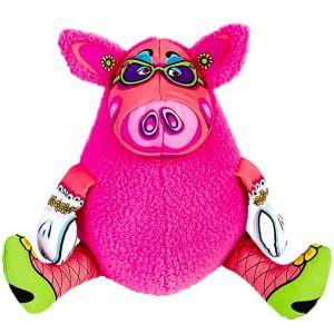 Brinquedo Pelúcia Gruntleys - Mini Rosa Fatcat