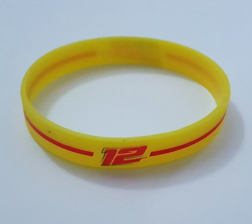 Pulseira LF12 2017 amarela