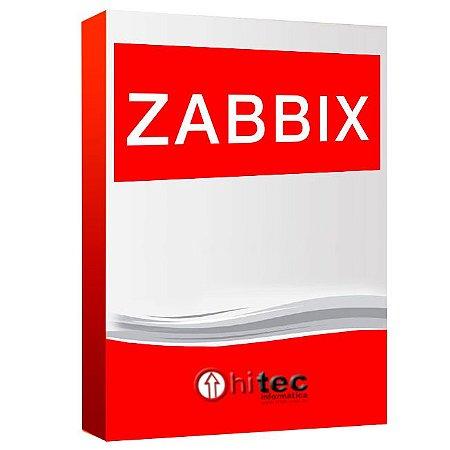 Monitoramento Zabbix - 01 ano