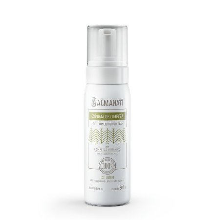 Espuma de limpeza (pele acneica e oleosa) Almanati, 200ml
