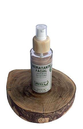 "Hidratante Facial Lavanda uNeVie *vidro com 50g"""