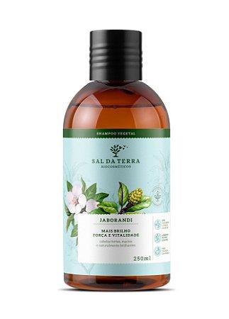 Shampoo Jaborandi tônico capilar, Sal da Terra, 250ml
