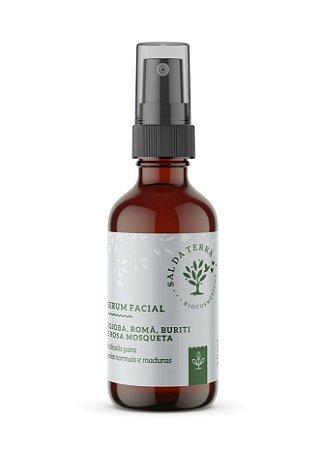 Serum Facial Jojoba, Romã, Buriti e Rosa Mosqueta (óleo antissinais), Sal da Terra, 30ml