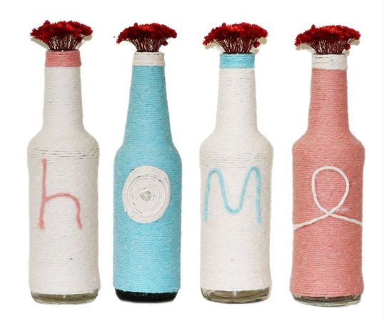 Kit Vasos Pequenos Decorativos HOME, Planeta Vegs