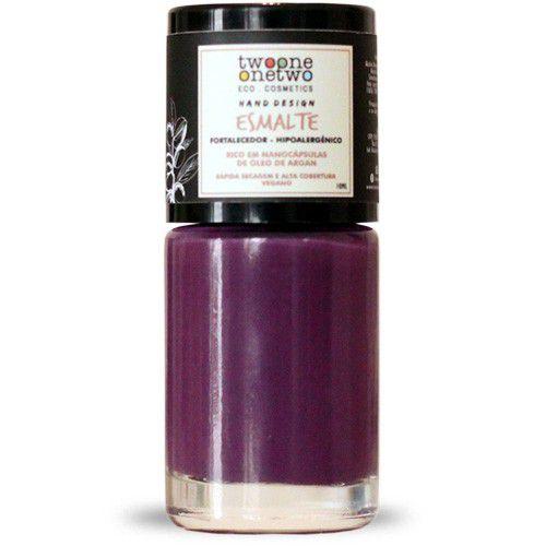 Esmalte Hipoalergênico Vegano Fortalecedor Twoone Onetwo 10ml Purple