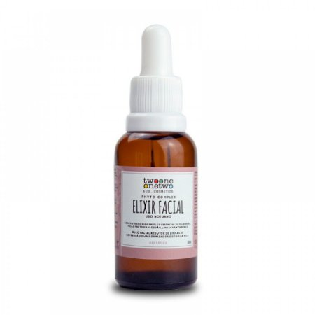Elixir Facial Noturno Natural Vegano Revinage Twoone Onetwo 30ML