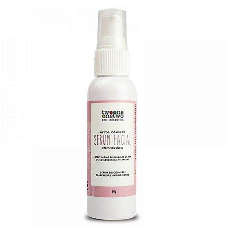 Sérum Facial Peles Sensíveis Natural Vegano e clareadorantioxidante  Twoone Onetwo 60g
