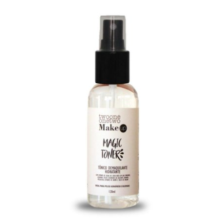 Magic Toner: Tonico Demaquilante Natural Vegano Lavanda e Melaleuca Twoone Onetwo 120ML