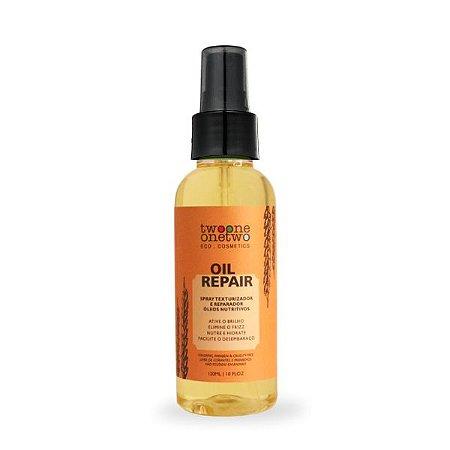 Oil Repair Spray Reparador Natural Vegano Óleos Divinos Twoone Onetwo 120ml