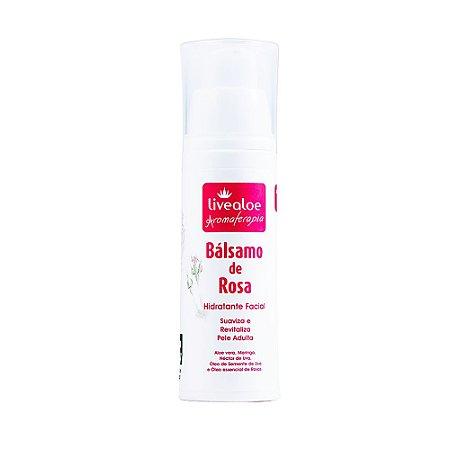 Bálsamo de Rosa hidratante facial LIVEALOE 30g