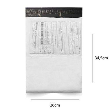 Envelope de Segurança 26 x 34,5 cm com bolsa canguru