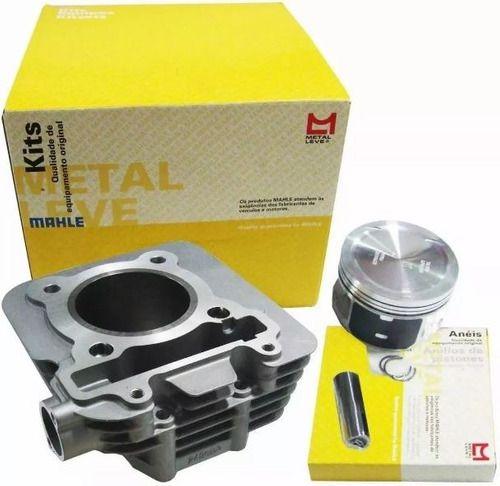 Kit Cilindro Pistão e anéis e Juntas Yamaha Fazer 250 / Tenere 250 / Lander 250 MetalLeve
