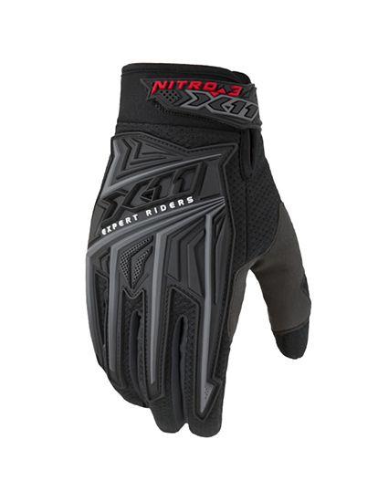 Luva X11 Modelo Nitro 3 para ciclistas,motoqueiros e Motociclistas