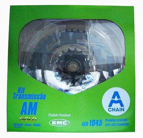 Kit Relação Yam Crosser 150 Am-kmc Hdx C/ Maior Durabilidade
