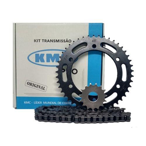 Kit Relação Kmc Pro Yamaha Fazer 250 Todas 06/17
