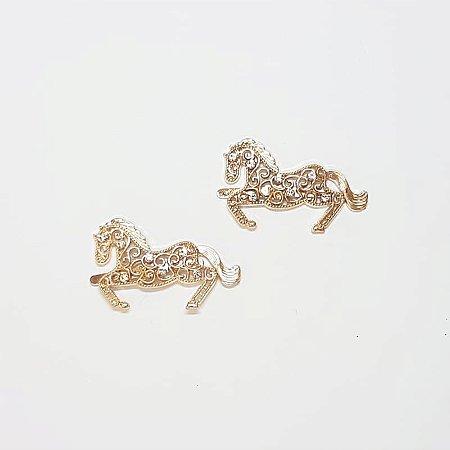 Piercing Garra - Cavalinho Strass (Dourado)