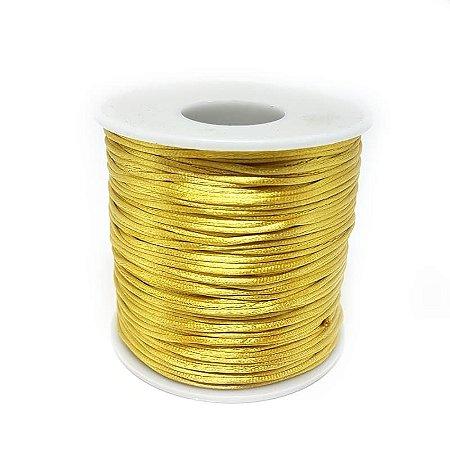 Fio de Seda 1mm 100mt (Ouro)