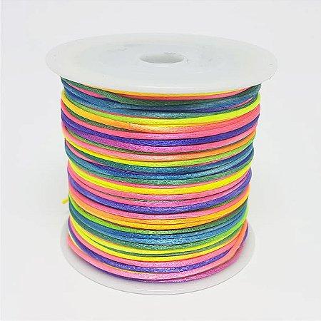 Fio de Seda Mesclado 1mm 50mt (Colorido)