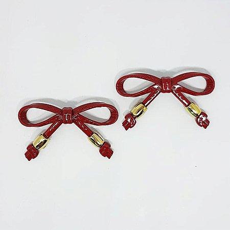 Piercing Lacinho Básico ABS (Vermelho)