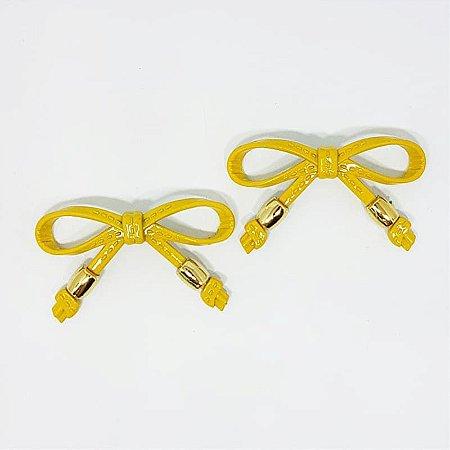 Piercing Lacinho Básico ABS (Amarelo)