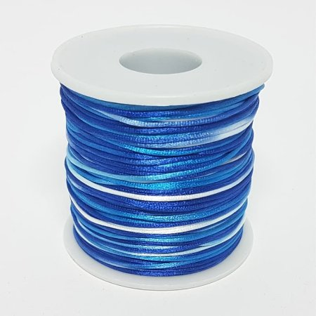 Fio de Seda Mesclado 1mm 100mt (Azul)