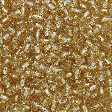 Miçanguinha Jablonex 2.6mm 9/0 50g (Ouro Novo Transparente)