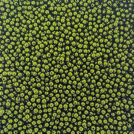 Pérola Inteira ABS 6mm 100g (Verde Musgo)