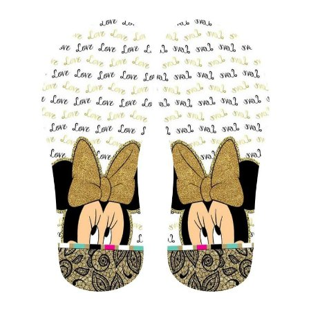 Lonita Sublimada - Minnie Love (Branco)
