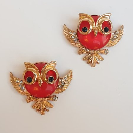 Piercing Garra - Coruja Barrigudinha (Vermelho)