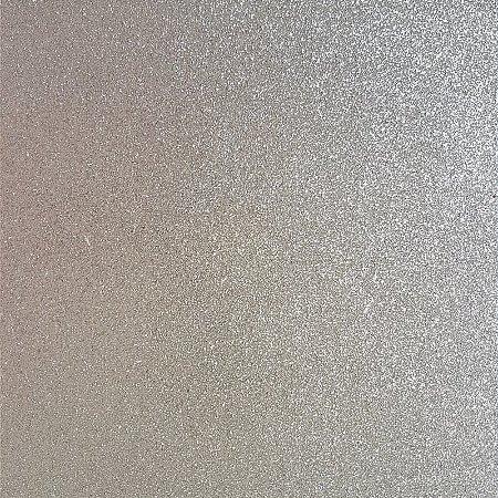 Lonita Tecido - Glitter Fino (Prata)