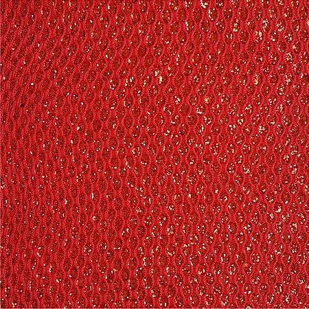 Lonita Tecido - Glitter Gota (Vermelho)