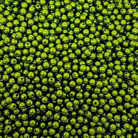 Pérola Inteira ABS 8mm 100g (Verde Musgo)