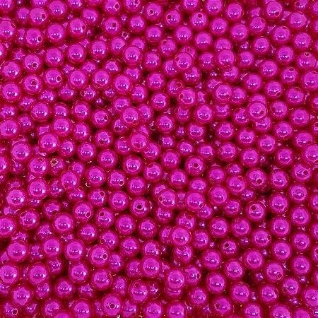 Pérola Inteira ABS 10mm 100g (Pink)