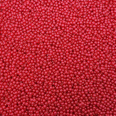 Pérola Inteira ABS 4mm 100g (Vermelho)