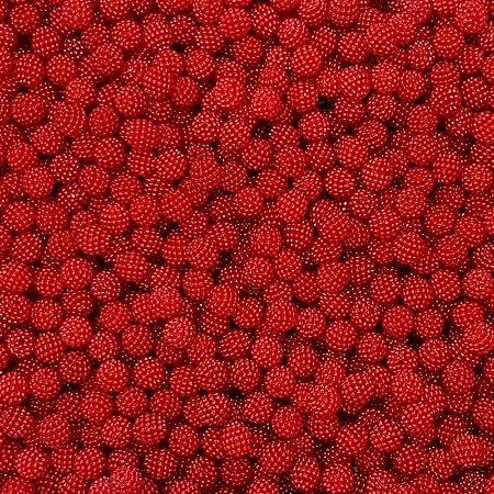 Pérola Craquelada ABS 10mm 100g (Vermelho)