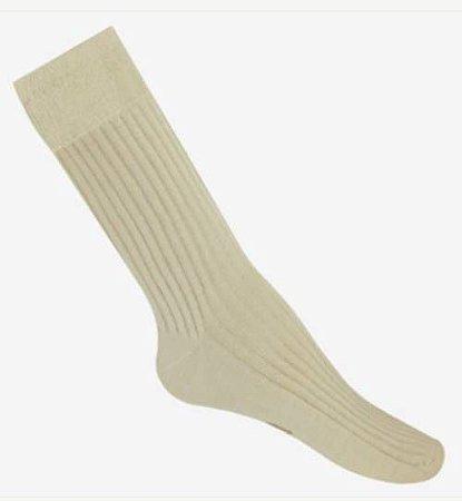 Meia antibolhas social para o verão - algodão pima - feet spa
