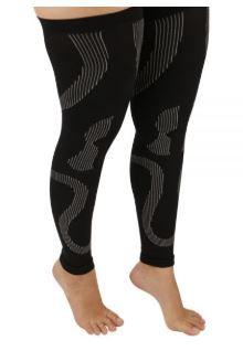 Meia apoio para compressão das pernas – compressão 20-30 mmhg – ortho pauher - ref.: cop 127