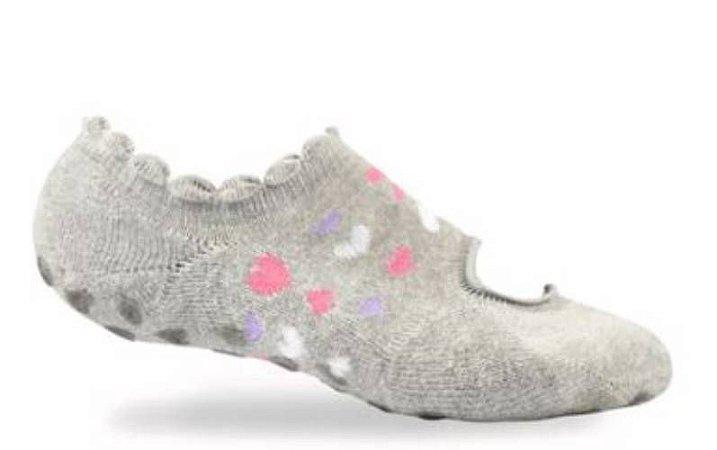 Meia sapatilha  antibolhas esportiva para pilates e ginastica - feet spa