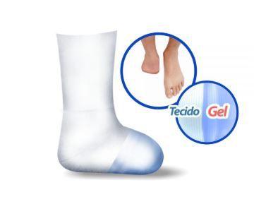 Meia felpuda com gel para amputação de pé - ortho pauher – ref.: sg710