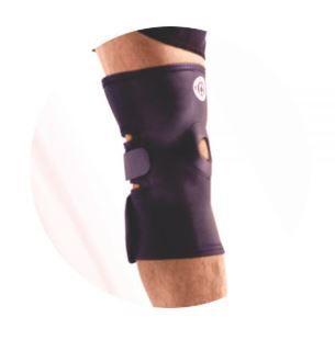 Joelheira de neoprene com reforço patelar ajustável - ortho pauher – ref.: ac516
