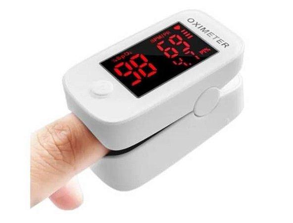Oxímetro – monitor portátil de saturação de oxigênio no sangue – pulse oximeter