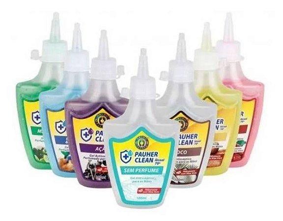 Álcool em gel 70% para as mãos - hidratante e perfumado  -  ortho pauher